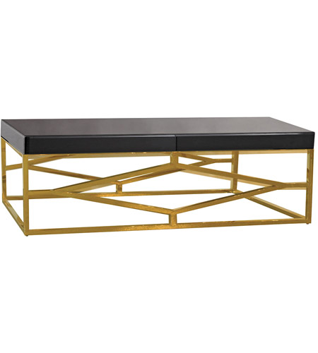 Dimond Home 1114-236 Beacon Towers 48 X 26 inch Gold and Black Coffee Table