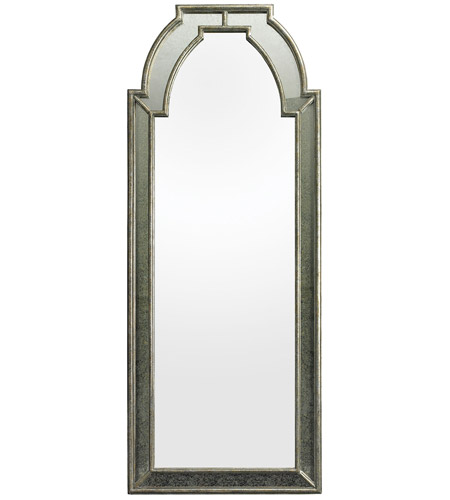 Dimond Home 114188 Arched 68 X 27 inch Antique Silver Mirror and Clear Wall Mirror