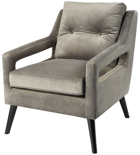 Dimond Home 1204-020 Fleetwood Grey Arm Chair