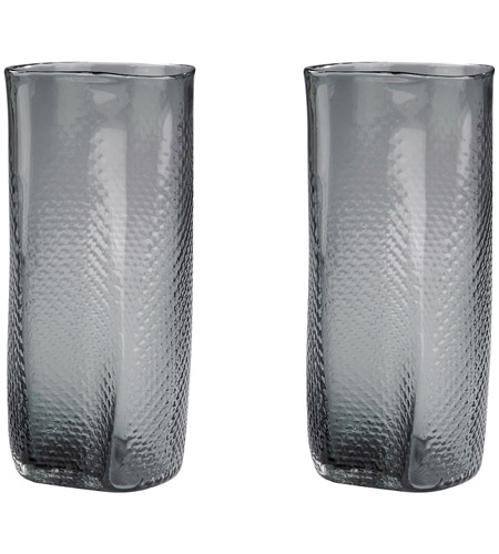 Dimond Home 154-015/S2 Etched 14 X 6 inch Vase in Grey