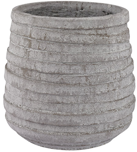 Dimond Home 156-001 Corrugated 14 X 14 inch Vase