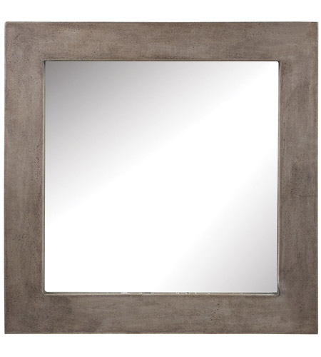 Dimond Home 157-001 Cubo 32 X 32 inch Concrete Wall Mirror