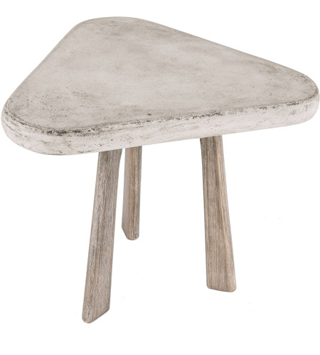 Dimond Home 157-015 Candy 15 X 15 inch Polished Concrete and Atlantic Side Table