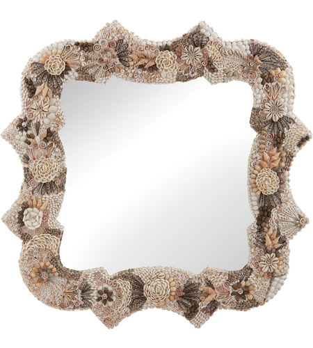 Dimond Home 163-027 Antoinette 36 X 36 inch Natural Wall Mirror