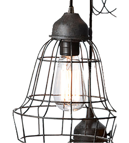 Dimond Home 225031 Five-Wire 5 Light 6 inch Brown Pendant Ceiling Light 225031_alt2.jpg