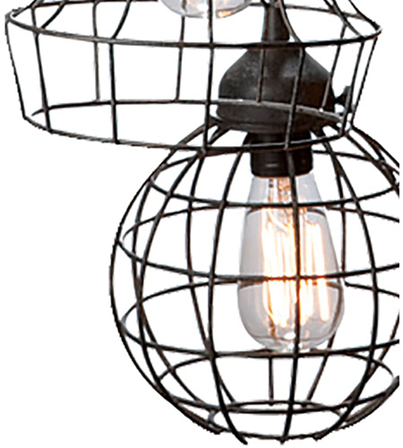 Dimond Home 225031 Five-Wire 5 Light 6 inch Brown Pendant Ceiling Light 225031_alt3.jpg