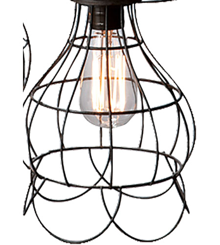 Dimond Home 225031 Five-Wire 5 Light 6 inch Brown Pendant Ceiling Light 225031_alt4.jpg