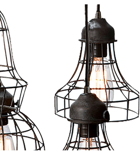 Dimond Home 225031 Five-Wire 5 Light 6 inch Brown Pendant Ceiling Light 225031_alt5.jpg