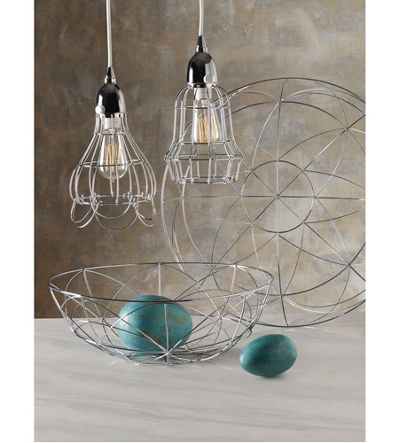 Dimond Home 225040 Barrel 1 Light 6 inch Silver Pendant Ceiling Light 225040_rm.jpg