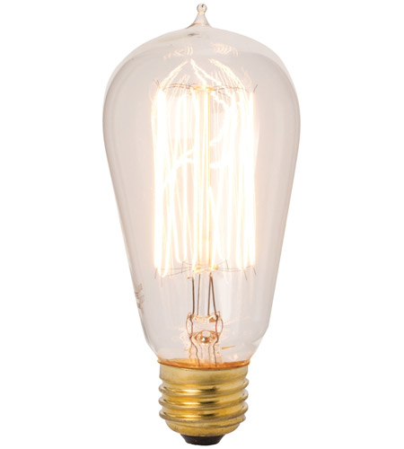 Clear Edison Light Bulbs