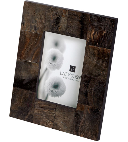 Dimond Home 344006 Buffalo Horn 9 X 7 inch Picture Frame in 5x7, 5x7
