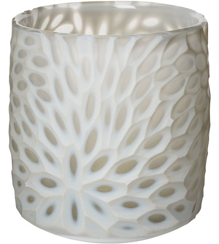 Dimond Home 464056 Bouquet Cut 6 X 5 inch Votive in Milk White