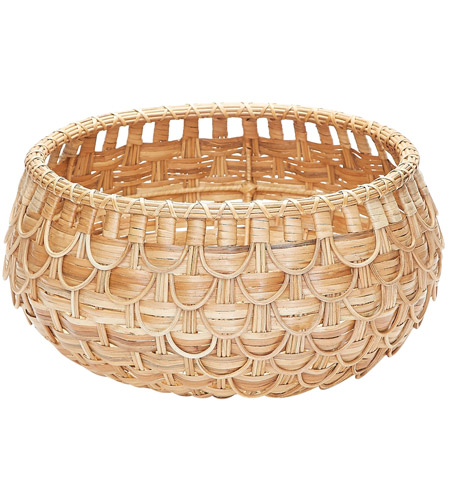 Dimond Home 466045 Fish Scale 17 X 9 inch Basket in Natural, Small, Small