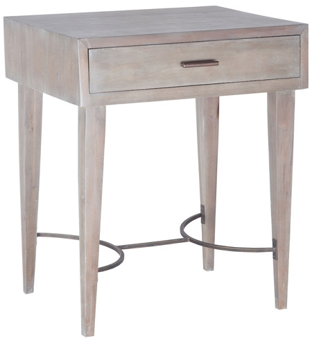 Dimond Home 7011-044 Empire 24 X 22 inch Restoration Grey Side Table, Stretcher