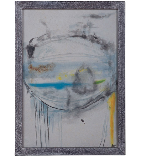 Dimond Home 7011-067 Abstract Eye Grey Wash Wall Art