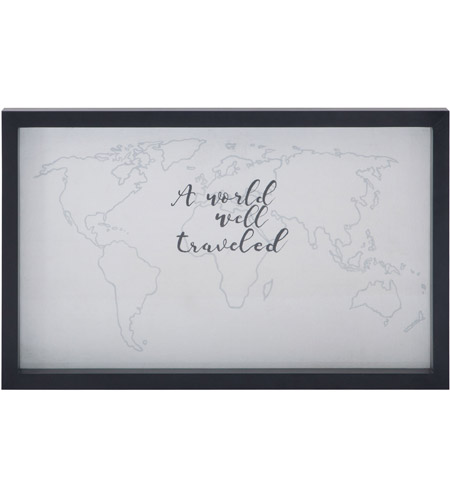 Dimond Home 7011-1091 A World Well Traveled 22 X 14 inch Art Print