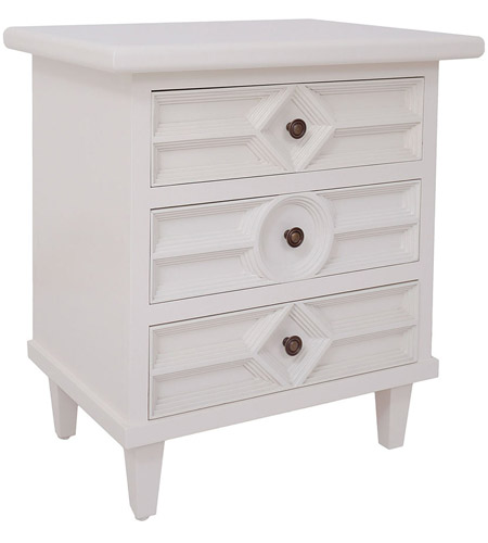 Dimond Home 7011-1228 Electra Cappucino Foam Side Chest