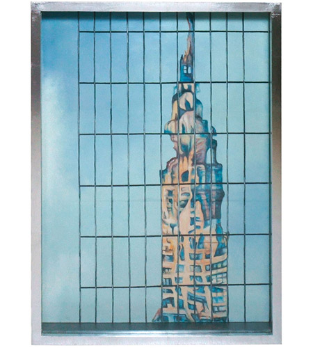 Dimond Home 7011-1419 Chrysler In Glass 37 X 25 inch Painting