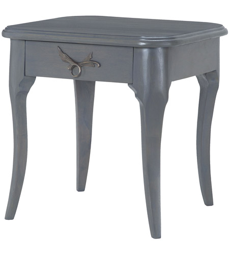 Dimond Home 7011-190 Edward 20 X 20 inch Antique Smoke Side Table
