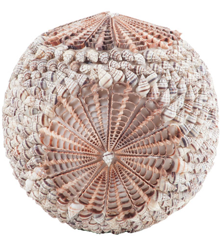 Dimond Home 7163-045 Cerith Natural Decorative Ball, Spiral Ball