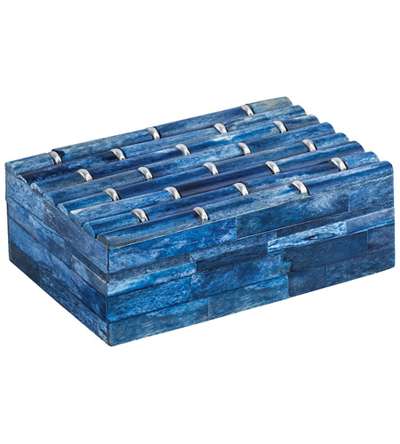 Dimond Home 8903-072 Bambloo 6 X 4 inch Navy Blue Box