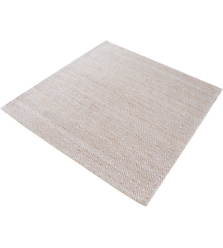 Dimond Home 8905-125 Elsie 6 X 6 inch Ivory and Beige Rug in 6-inch Square