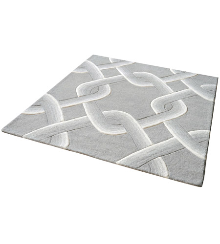 Dimond Home 8905-193 Desna 16 X 16 inch Grey Rug in 16-inch Square