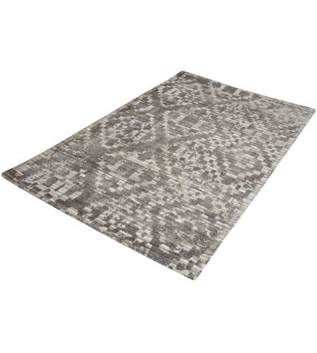 Dimond Home 8905-250 Darcie 60 X 36 inch Iron Ore Grey and Cream Rug in Small
