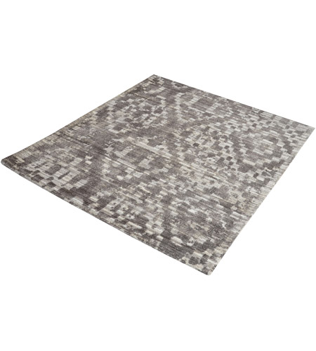 Dimond Home 8905-254 Darcie 16 X 16 inch Iron Ore Grey and Cream Rug in 16-inch Square