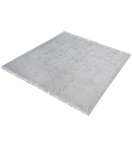 Dimond Home 8905-315 Belleville 16 X 16 inch Grey and Silver Rug in 16-inch Square