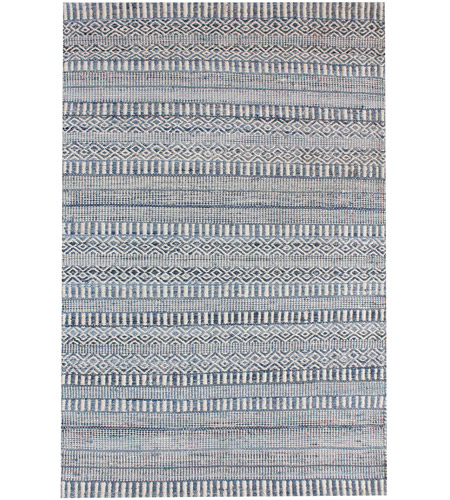 Dimond Home 8905-335 Devan 6 X 6 inch Ivory,Blue Rug in 6-inch Square