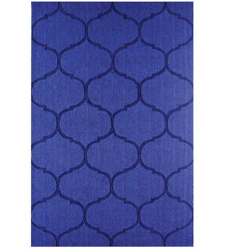 Dimond Home 8905-344 Dash 16 X 16 inch Blue Rug in 16-inch Square