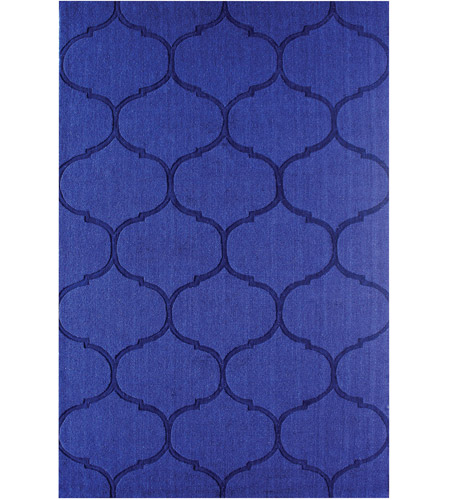 Dimond Home 8905-345 Dash 6 X 6 inch Blue Rug in 6-inch Square