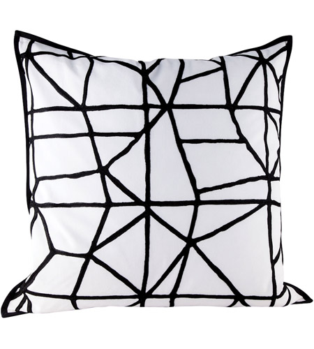 Dimond Home 8906-010-C Cracking 24 inch Embroidery Pillow Cover