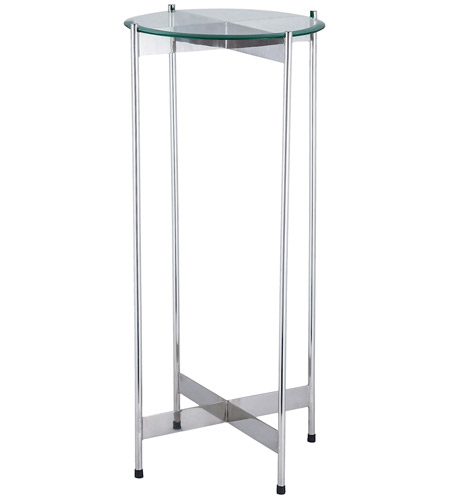 Dimond Home 8983-036 1 Wall Street 31 X 15 inch Chrome Side Table