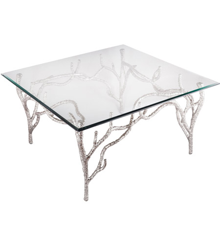 Dimond Home 8987 013 Metropolitan 32 X 32 Inch Polished Nickel Side Table  Photo