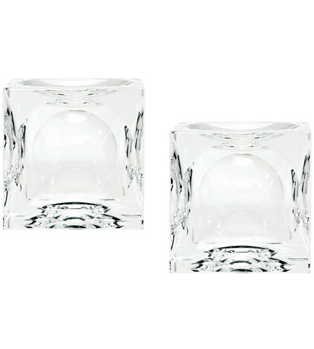 Dimond Home 980016/S2 Cube 2 X 2 inch Candle Holder in Small, Small
