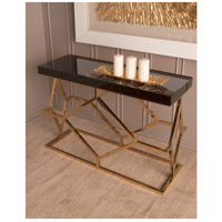 Dimond Home 1114-169 Deco 46 X 16 inch Gold Plate and Black Console Table 1114-169_rm1.jpg thumb