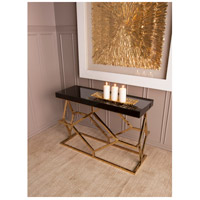 Dimond Home 1114-169 Deco 46 X 16 inch Gold Plate and Black Console Table 1114-169_rm2.jpg thumb