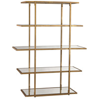 Dimond Home 1114-171 Diamond Gold Leaf Shelf