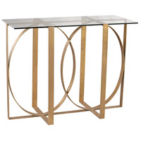Ludwik 46 X 20 inch Gold Leaf Console Table