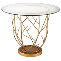 Dimond Home 1114-205 Thicket 36 X 36 inch Gold Leaf Entry Table