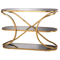 Louvre 49 X 17 inch Champagne Gold Console Home Decor