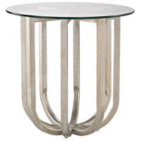 Nest 20 X 20 inch Champagne Gold Side Table