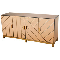 Museum 64 X 18 inch Gold Leaf Credenza
