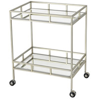 The Nines Nickel Bar Cart