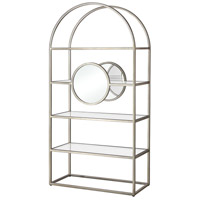 Polaris 71 X 36 X 15 inch Antique Silver Shelf