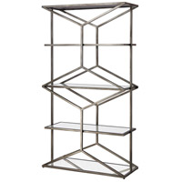 Croix 72 X 40 X 15 inch Antique Silver Shelf