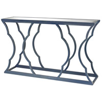 Dimond Home 114-115 Cloud 60 X 15 inch Navy Blue and Mirror Console thumb