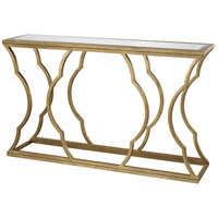 Metal Cloud 60 X 15 inch Antique Gold Leaf Console Table